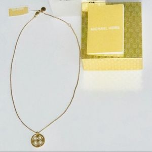 NWT- Michael Kors Gold Necklace